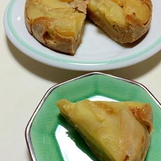 ★炊飯器でりんごのケーキ