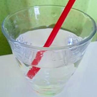 レモン果汁入☆炭酸水