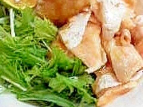 炙り鮭ハラスのおろしポン酢