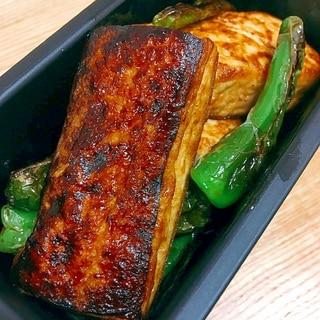 こんがり♪豆腐の香味醤油ステーキ