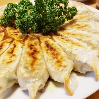 野菜と大豆の餃子