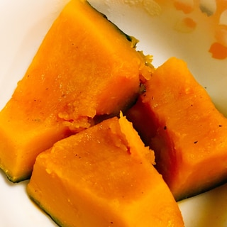 冷凍かぼちゃでぱぱっと煮物
