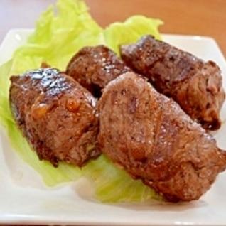 とろ~りチーズがおいしい☆ポテトの牛肉巻き