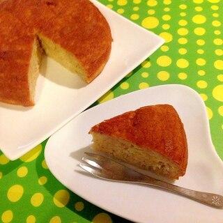 HMで☆炊飯器で★お手軽バナナケーキ