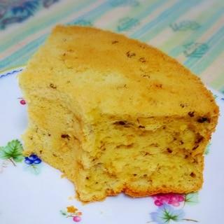 米粉で作る紅茶シフォンケーキ
