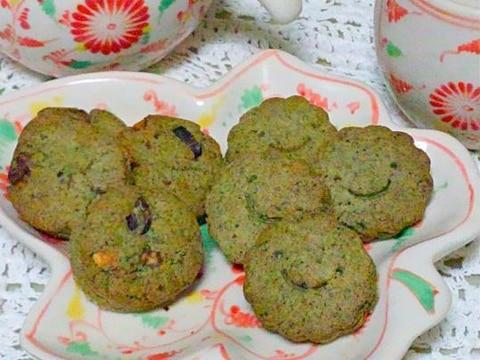 サックサクの蓬クッキー☆卵・乳製品なし