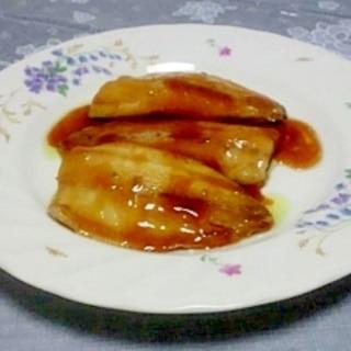 絶品☆すき焼きのタレで鰺の蒲焼き