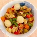 カラフル中華丼★お野菜たっぷり♪