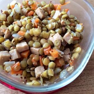 ヘルシー常備食!レンズ豆のサラダ